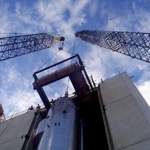 Evaporator MVR Calandria Installation